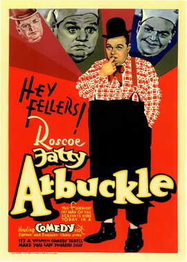 Fatty Arbuckle - 11 x 17 Movie Poster - Style A
