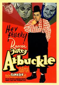 Fatty Arbuckle - 43 x 62 Movie Poster - Bus Shelter Style A