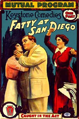 Fatty at San Diego - 11 x 17 Movie Poster - Style A