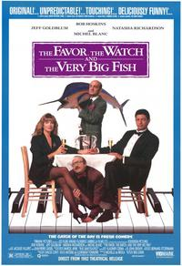 Favour, the Watch and the Very Big Fish,The - 11 x 17 Movie Poster - Style A