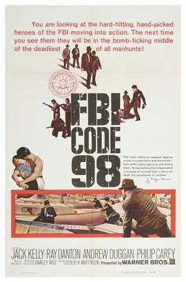 FBI Code 98 - 27 x 40 Movie Poster - Style B