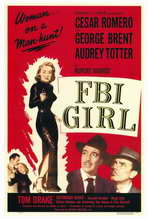 FBI Girl - 27 x 40 Movie Poster - Style A