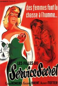 FBI Girl - 27 x 40 Movie Poster - French Style A