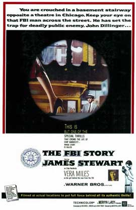 The FBI Story - 11 x 17 Movie Poster - Style A
