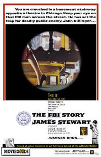 The FBI Story - 43 x 62 Movie Poster - Bus Shelter Style A