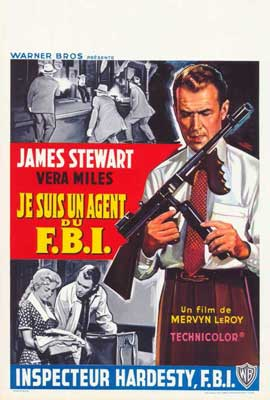 The FBI Story - 27 x 40 Movie Poster - Belgian Style A
