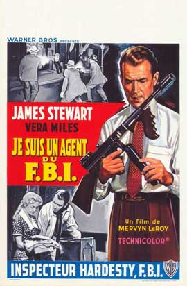 The FBI Story - 11 x 17 Movie Poster - Belgian Style A