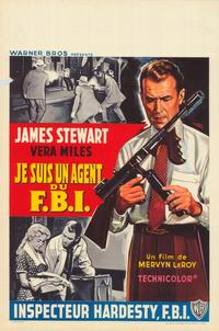 The FBI Story - 43 x 62 Poster - Foreign - Bus Shelter Style A