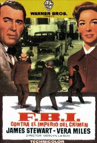 The FBI Story - 27 x 40 Movie Poster - Spanish Style B