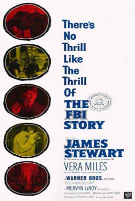 The FBI Story - 27 x 40 Movie Poster - Style B