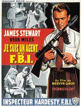 The FBI Story - 11 x 17 Movie Poster - French Style A
