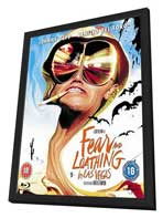 Fear and Loathing in Las Vegas - 11 x 17 Movie Poster - UK Style A - in Deluxe Wood Frame