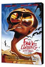 Fear and Loathing in Las Vegas - 27 x 40 Movie Poster - Style A - Museum Wrapped Canvas