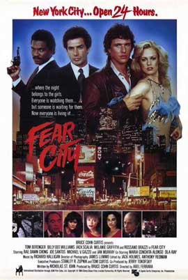 Fear City - 11 x 17 Movie Poster - Style B