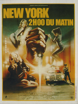 Fear City - 11 x 17 Movie Poster - French Style A