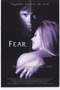 Fear - 43 x 62 Movie Poster - Bus Shelter Style A
