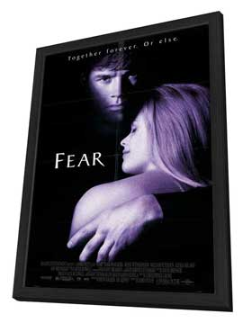 Fear - 27 x 40 Movie Poster - Style A - in Deluxe Wood Frame