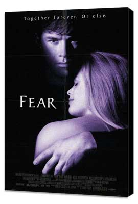 Fear - 27 x 40 Movie Poster - Style A - Museum Wrapped Canvas