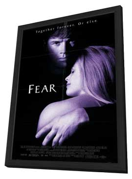 Fear - 11 x 17 Movie Poster - Style A - in Deluxe Wood Frame