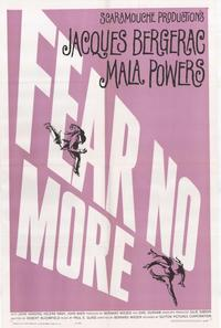 Fear No More - 11 x 17 Movie Poster - Style A