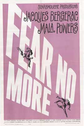 Fear No More - 27 x 40 Movie Poster - Style A