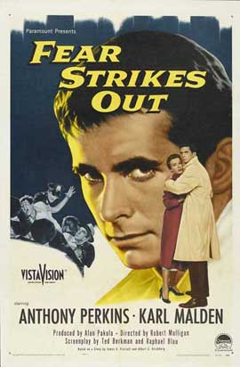 Fear Strikes Out - 11 x 17 Movie Poster - Style A