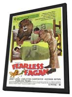 Fearless Fagan - 11 x 17 Movie Poster - Style A - in Deluxe Wood Frame