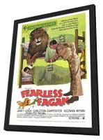 Fearless Fagan - 27 x 40 Movie Poster - Style A - in Deluxe Wood Frame