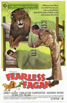 Fearless Fagan - 11 x 17 Movie Poster - Style A