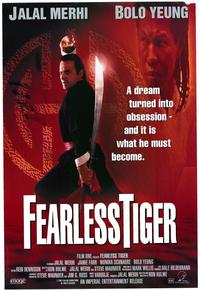 Fearless Tiger - 43 x 62 Movie Poster - Bus Shelter Style A