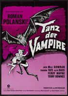 The Fearless Vampire Killers - 11 x 17 Movie Poster - German Style B