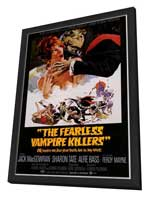 The Fearless Vampire Killers - 27 x 40 Movie Poster - Style A - in Deluxe Wood Frame