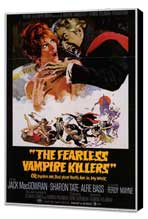 The Fearless Vampire Killers - 27 x 40 Movie Poster - Style A - Museum Wrapped Canvas