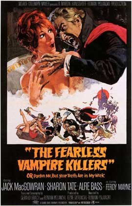 The Fearless Vampire Killers - 11 x 17 Movie Poster - Style B