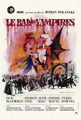 The Fearless Vampire Killers - 27 x 40 Movie Poster - French Style A