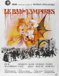 The Fearless Vampire Killers - 43 x 62 Movie Poster - French Style A
