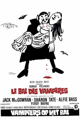The Fearless Vampire Killers - 11 x 17 Movie Poster - German Style A