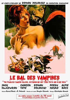 The Fearless Vampire Killers - 11 x 17 Movie Poster - French Style C