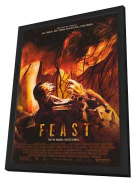 Feast - 11 x 17 Movie Poster - Style A - in Deluxe Wood Frame