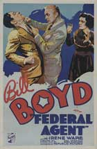 Federal Agent - 11 x 17 Movie Poster - French Style A