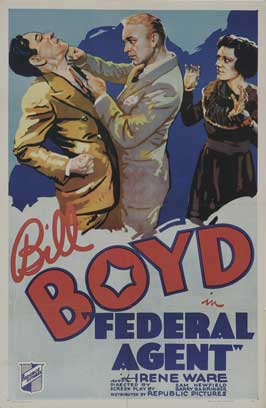 Federal Agent - 27 x 40 Movie Poster - French Style A