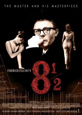 Federico Fellini's 8� - 27 x 40 Movie Poster - Style A
