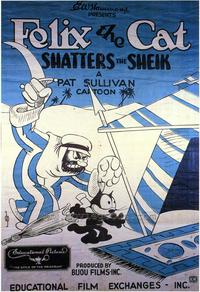 Shatters the Sheik - 43 x 62 Movie Poster - Bus Shelter Style A