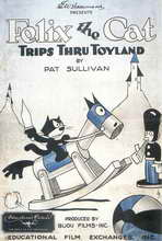 Felix the Cat Trips Thru Toyland - 11 x 17 Movie Poster - Style A
