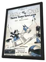 Felix the Cat Trips Thru Toyland - 11 x 17 Movie Poster - Style A - in Deluxe Wood Frame