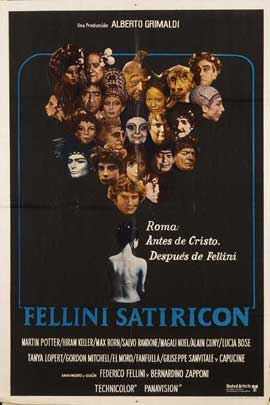 Fellini Satyricon - 11 x 17 Movie Poster - French Style A