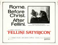 Fellini Satyricon - 30 x 40 Movie Poster UK - Style A