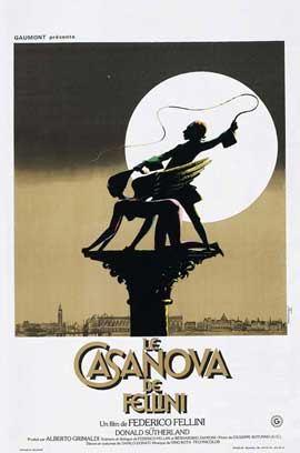 Fellini's Casanova - 11 x 17 Movie Poster - German Style A