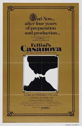 Fellini's Casanova - 27 x 40 Movie Poster - Style A