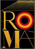Fellini's Roma - 11 x 17 Movie Poster - Style B